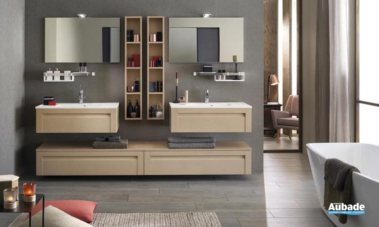 Meuble salle de bain Unique Wood 90cm 1