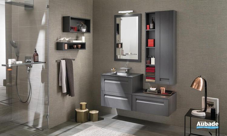 Meuble salle de bain Unique Wood 60cm 1