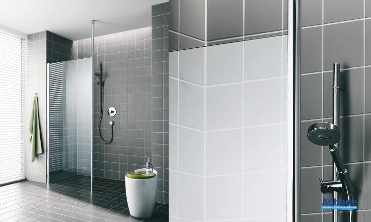 Paroi de douche Walk-in-shower Series AT TWP 1
