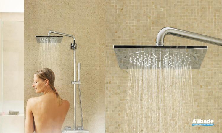 Colonne de douche Rainshower F-Série de Grohe avec douchette et mitigeur