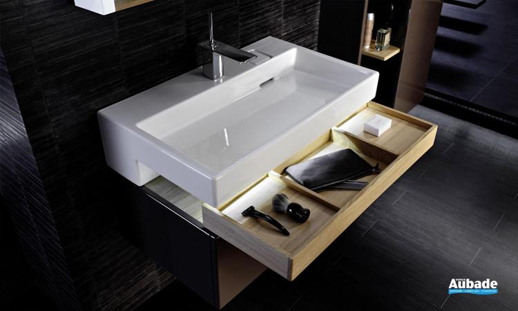 Plan vasque avec bandeau LED Terrace de Jacob Delafon 1