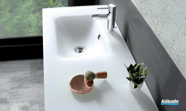 Plan vasque en verre Vox de Jacob Delafon