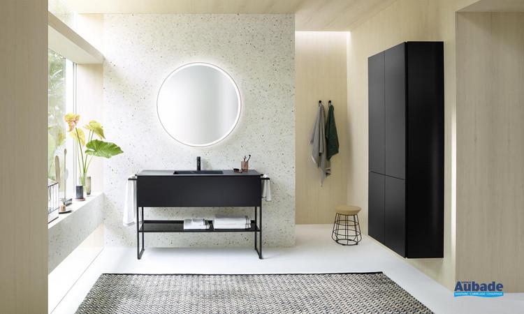 Meuble de salle de bains Fiumo Marbre Noir de Burgbad