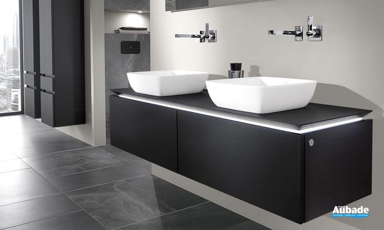 Meuble de salle de bains Legato Coloris Soft Grey de Villeroy et Boch