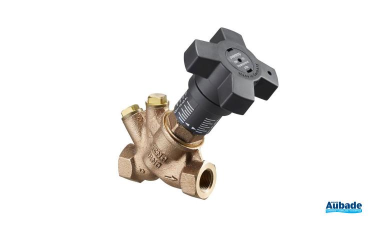 Robinet d'équilibrage Hydrocontrol VTR de Oventrop en bronze