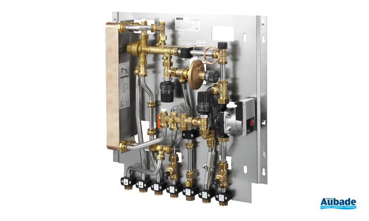 Système de distribution Regudis W de Oventrop idéal pour raccorder vos sanitaire en eau chaude