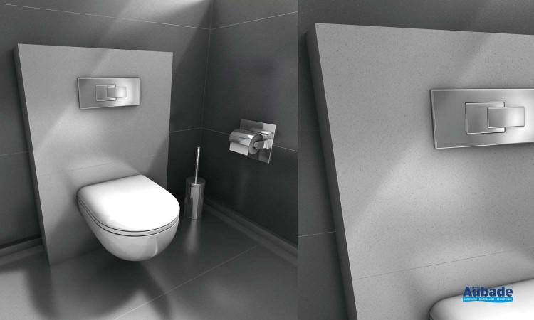 WC suspendu I-board de Wedi