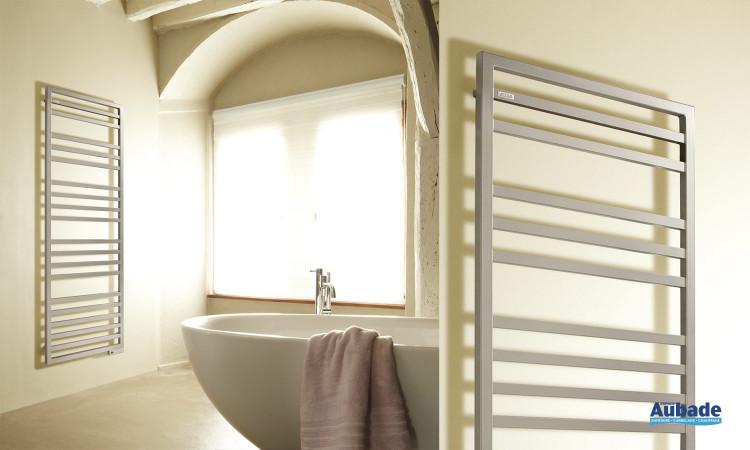 Sèche-serviettes Kadrane Spa d'Acova au design carré et moderne