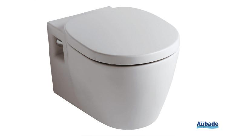 Pack cuvette suspendue Connect blanc de Ideal Standard