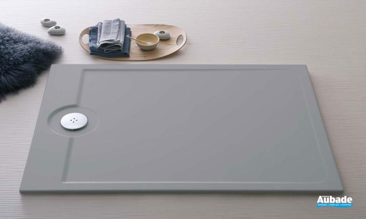 Receveur de douche Allia Latitude 140 x 80 cm gris mat