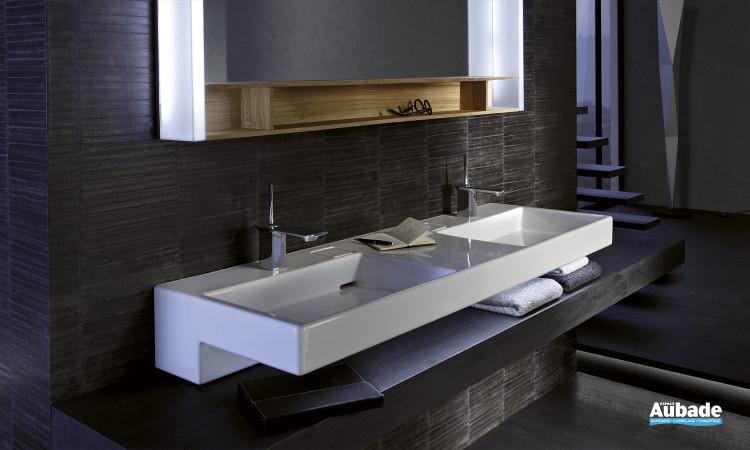 Plan vasque céramique 150 cm Terrace de Jacob Delafon
