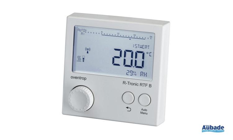 Gamme radiotélécommandée - Thermostat radio R-Tronic RTFC K de Oventrop