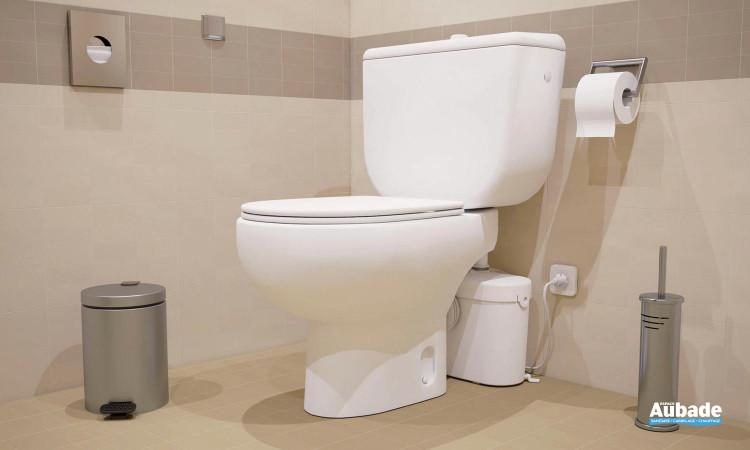 Broyeur WC adaptable double accessibilité Saniaccess1 de SFA
