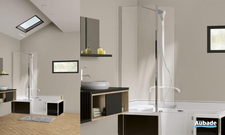 Concept Duo de Kinedo en remplacement de baignoire
