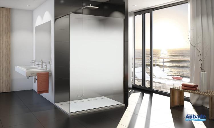 parois de douche walk in eco sanswiss espace aubade. Black Bedroom Furniture Sets. Home Design Ideas