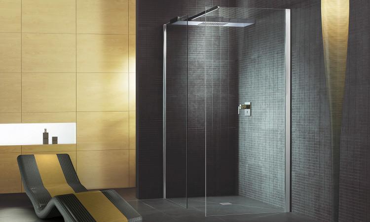 La douche à l'italienne Fundo Primo de wedi
