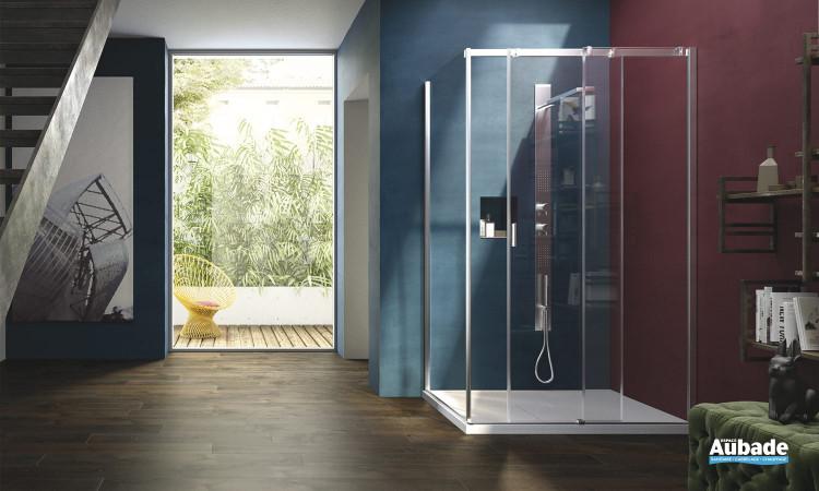 parois de douche s rie 8000 vismara espace aubade. Black Bedroom Furniture Sets. Home Design Ideas
