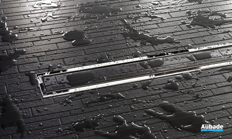 Kits grille/cadre pour caniveaux de douches à l'italienne Schlüter®-KERDI-LINE-A /-B /-C