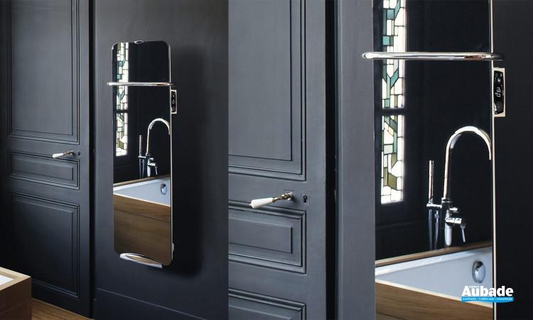 Sèche-serviettes soufflant Campaver bains Ultime 3.0 - Finition Glace de verre
