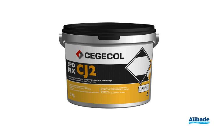 Mise en oeuvre et finition carrelage Epofix CJ2 de Cegecol