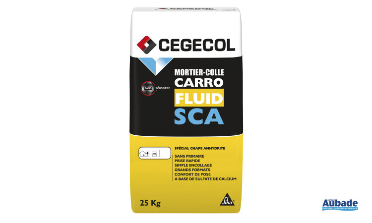 Mortier colle Carrofluid SCA de Cegecol