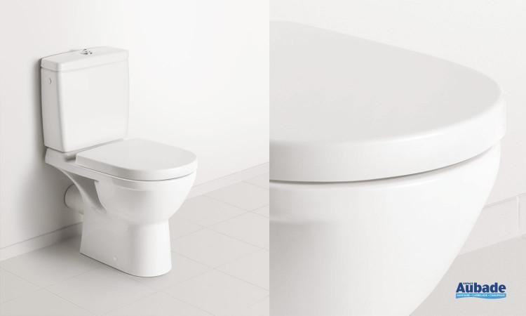 Pack WC avec cuvette sur pied compacte O.novo Compact de Villeroy & Boch
