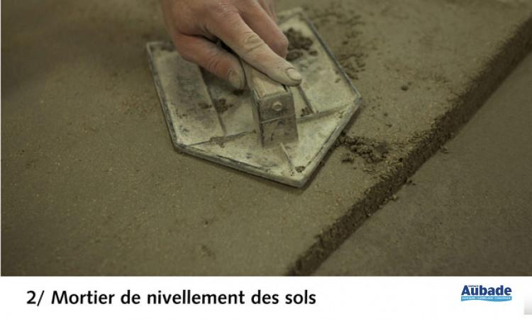 Ragréage 3 en 1 Cegesol SE de Cegecol - Mortier de nivellement des sols