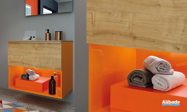 Rangements meuble de salle de bains Liberty Fantasy de Sanijura