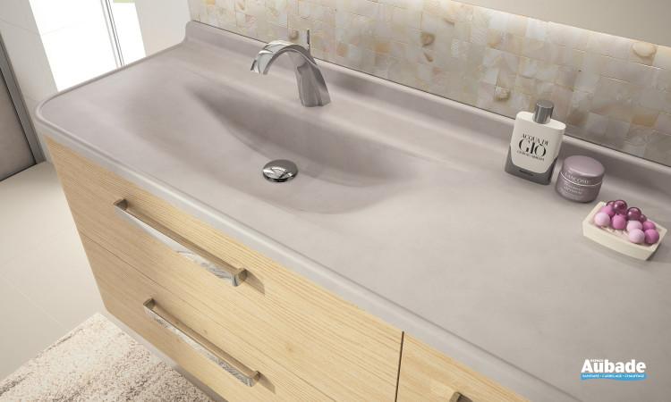 Détail meuble de salle de bains Glam de Ambiance Bain