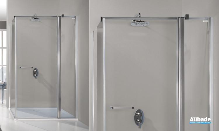 Paroi de douche fermée Prestige de Leda