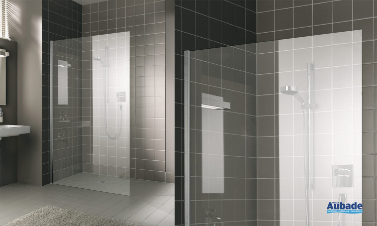 Paroi de douche walk-in-shower XS XC WIO Novellini