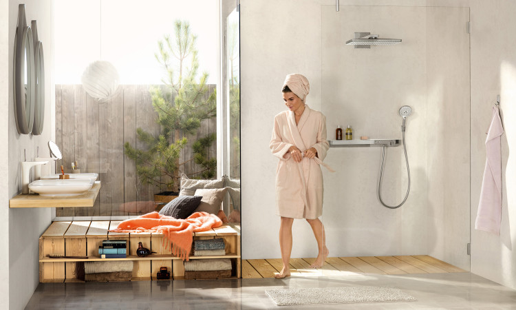 Colonne 2 jets Rainmaker - Hansgrohe