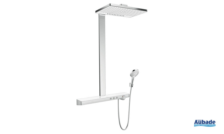 Colonne de douche Showerpipe Rainmaker Select 460 2jet de hansgrohe