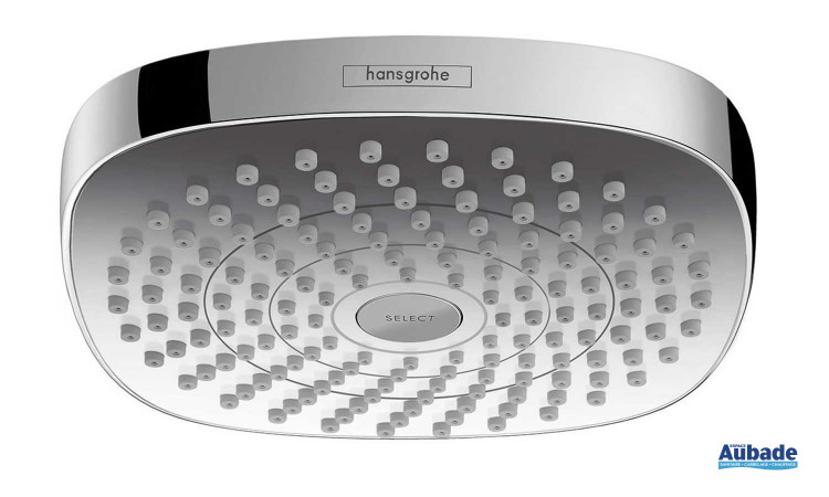 Douche de tête Croma Select E180 2jet Hansgrohe orientable grande taille