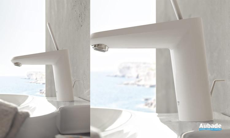 Mitigeur lavabo Eurodisc Joy modèle M blanc de Grohe