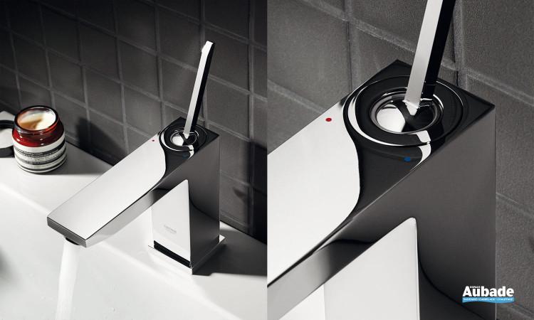 Mitigeur lavabo bec M Eurocube Joy de Grohe