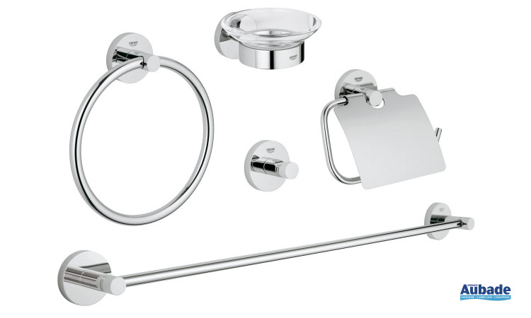 Kit de 5 accessoires Essentials Essence de Grohe