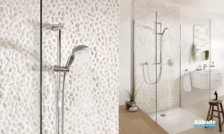 Façade pour mitigeur douche encastré Eurostyle de Grohe