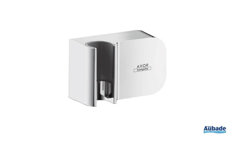 Support de douchette encastré avec alimentation intégrée Axor One d'Axor