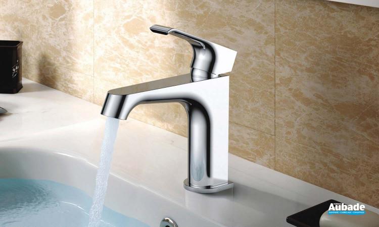 Mitigeur lavabo bas Zohé chromé de Paini France