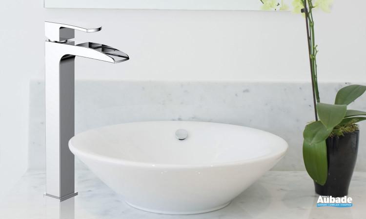 Mitigeur lavabo rehaussé chromé Lothus de Paini France