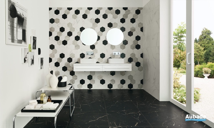 Faience imitation marbre Marmi Reali Mat Ceramiche Piemme