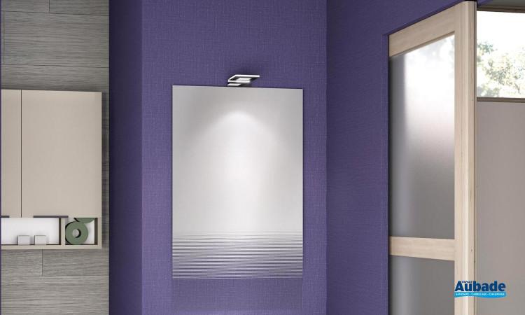 Petite applique carrée LED de Delpha