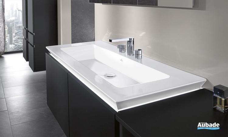 Plan vasque céramique Legato Villeroy & Boch