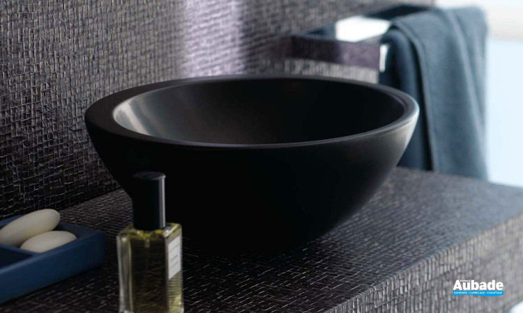 Vasque ronde à poser céramique Vanity de Allia