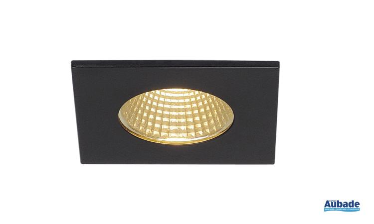 Luminaire encastré Patta-I de SLV - Carré noir