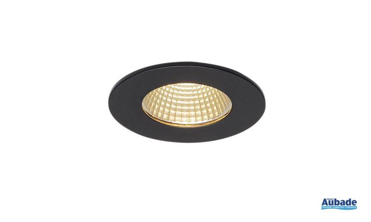 Luminaire encastré Patta-I de SLV - Rond noir