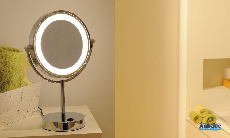 Miroir cosmétique à poser LED Vissardo de SLV