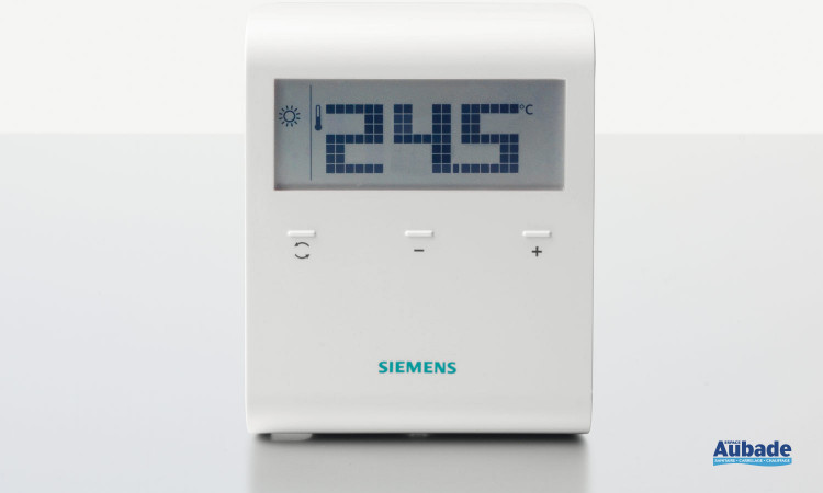 Thermostat d'ambiance (RDD100.1RF) de Siemens