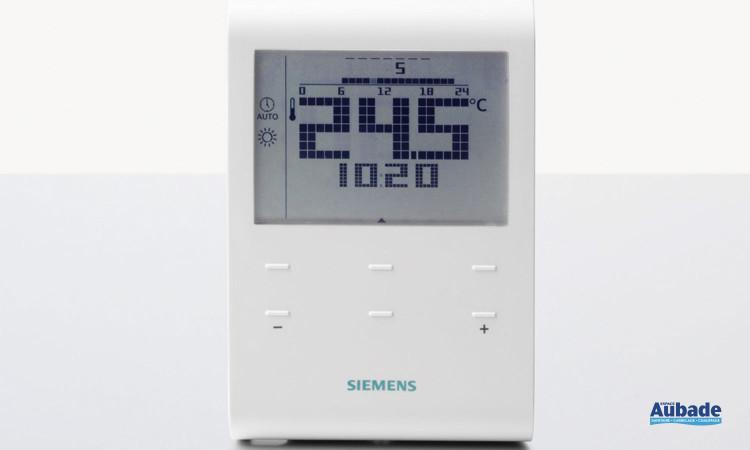 Thermostat programmable (RDE100.1RF) de Siemens